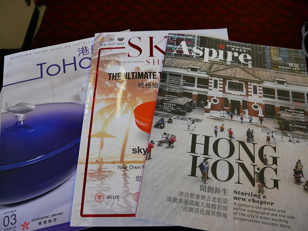 香港航空 機内誌
