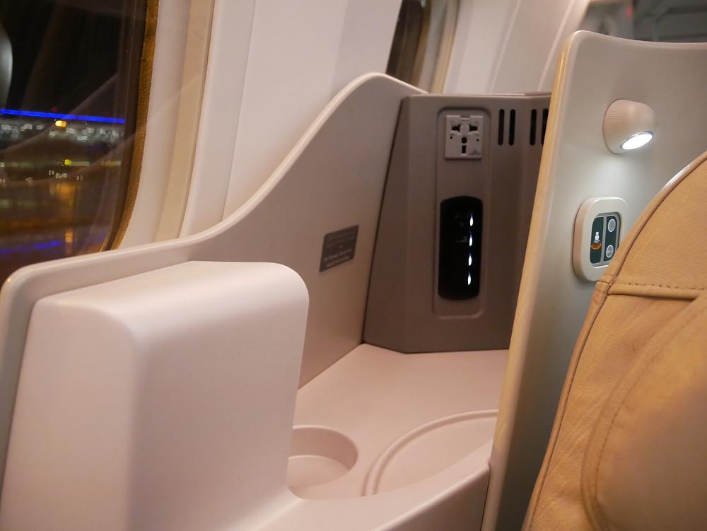 ロイヤルヨルダン航空 ビジネスクラス座席