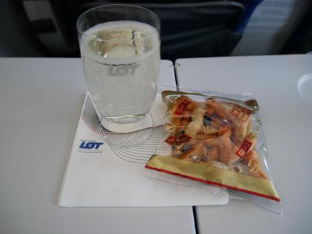 LOTポーランド航空 プレミアムエコノミークラス搭乗記 ワルシャワ〜成田2018年8月