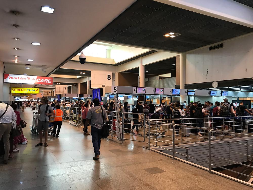 バンコク ドンムアン空港