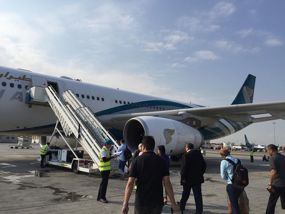 オマーン航空A330