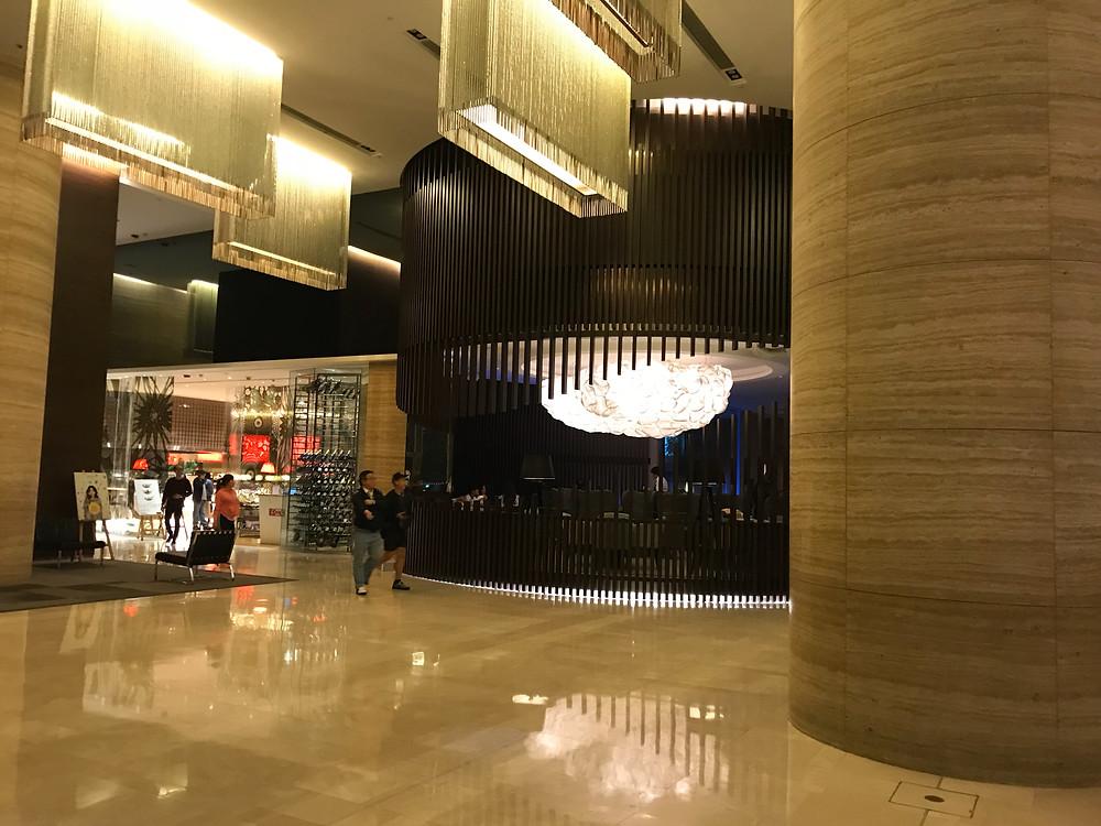 ノボテル シティーゲート 香港 ロビー