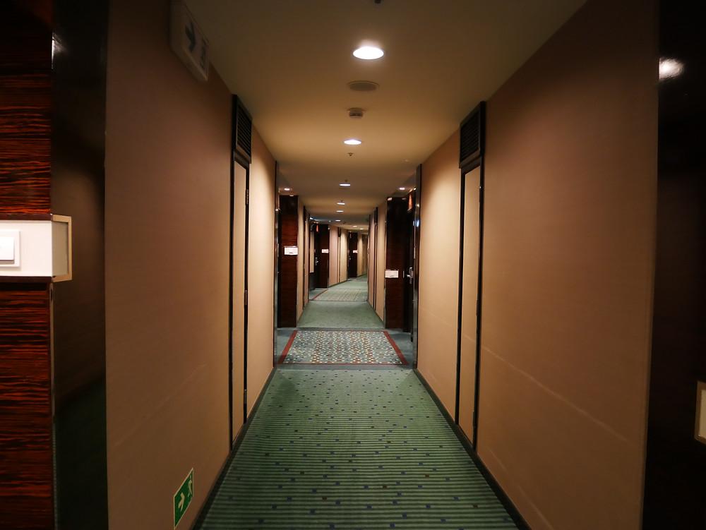 スカイシティマリオット 廊下