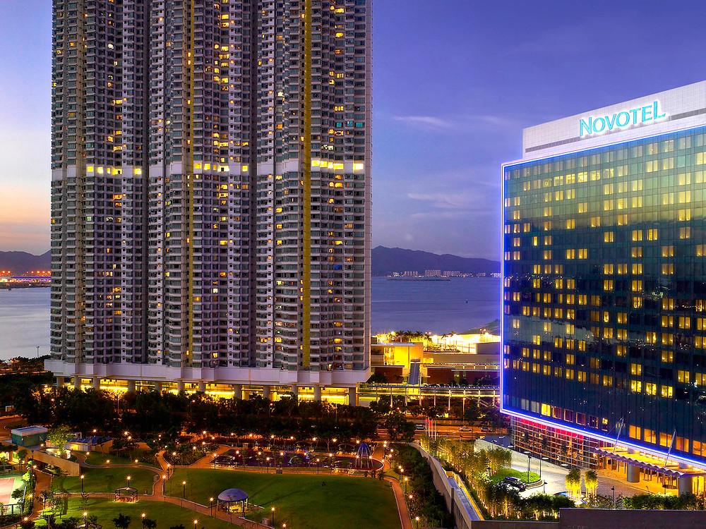 ノボテル シティーゲート 香港 全景