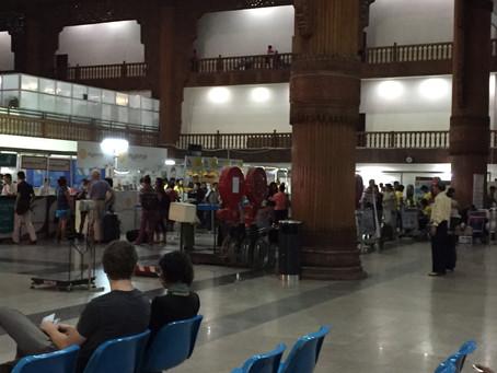 エア・カンボーザ エコノミークラス ヤンゴン~ニャンウー 2016年4月