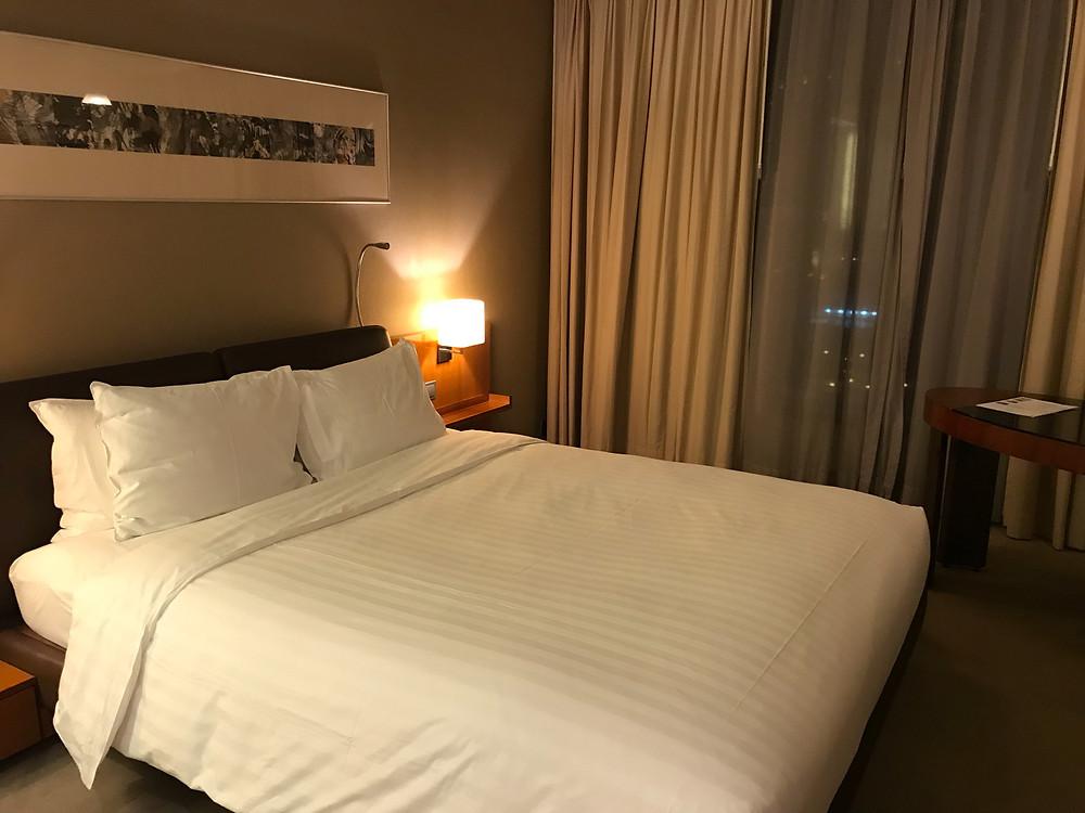 ノボテル シティーゲート 香港 ベッド
