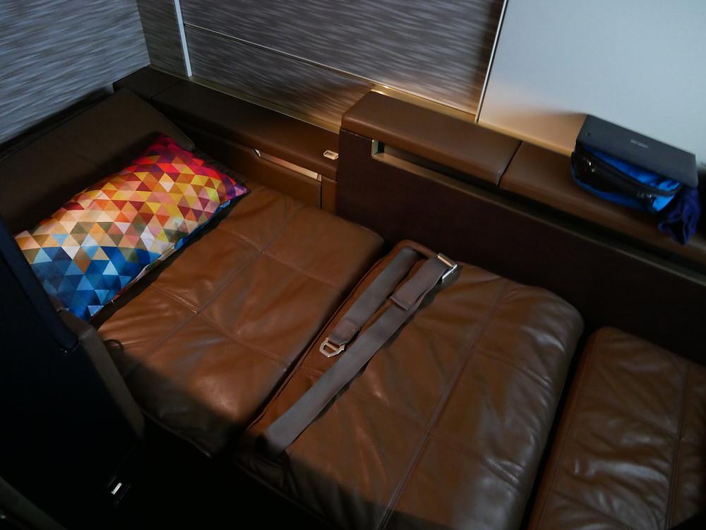 エティハド航空 ファーストクラス 座席