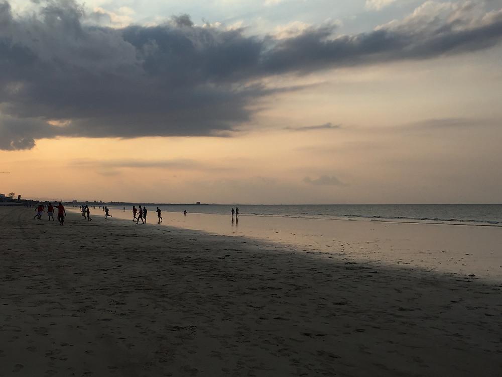 マスカットのビーチ
