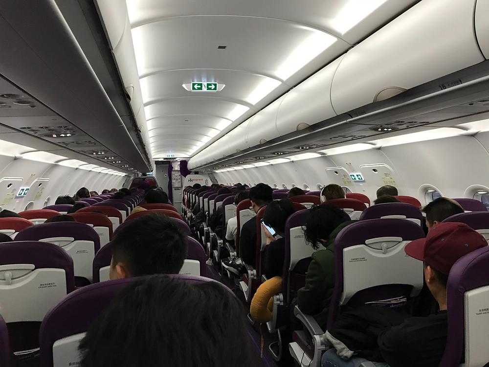 香港エクスプレス 機内