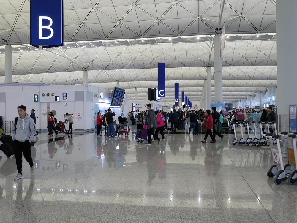 香港国際空港 第一ターミナル