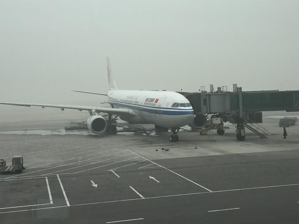 Air China飛行機