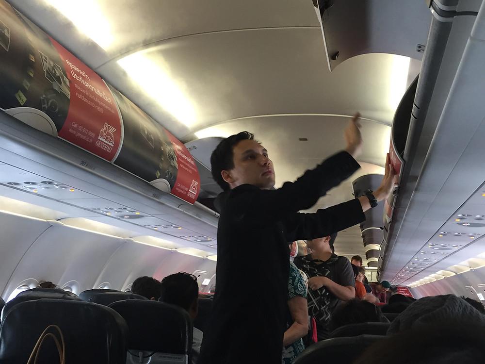エアアジア機内