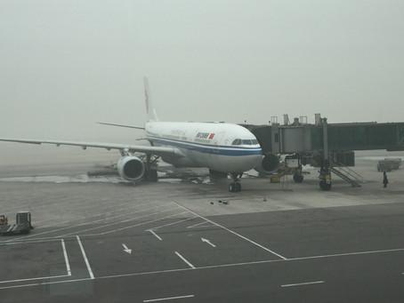 中国国際航空(エアチャイナ) ビジネスクラス搭乗記 北京~ローマ 2015年12月