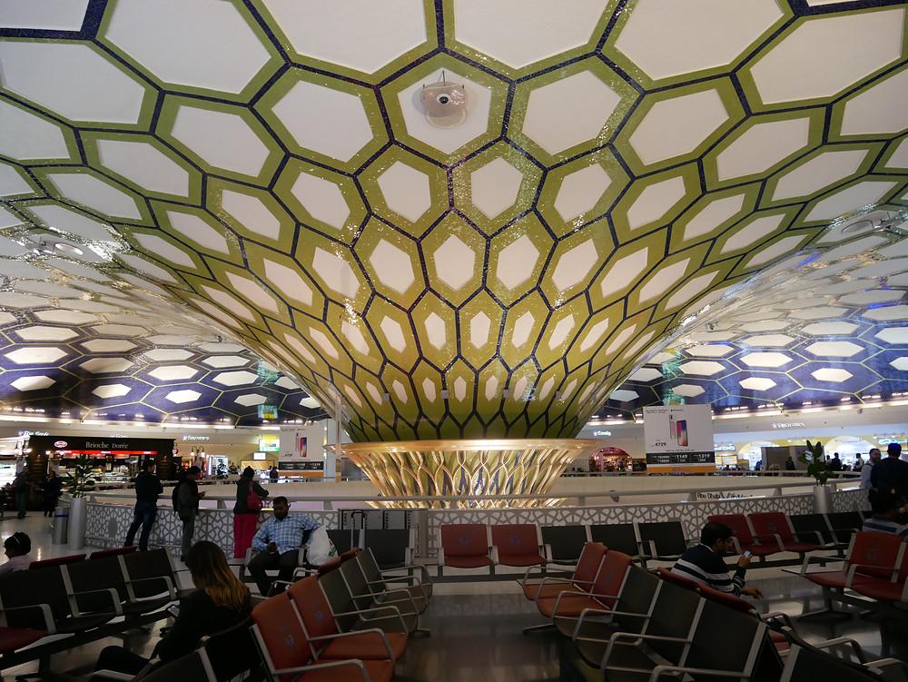 エティハド航空 アブダビ空港 ターミナル1