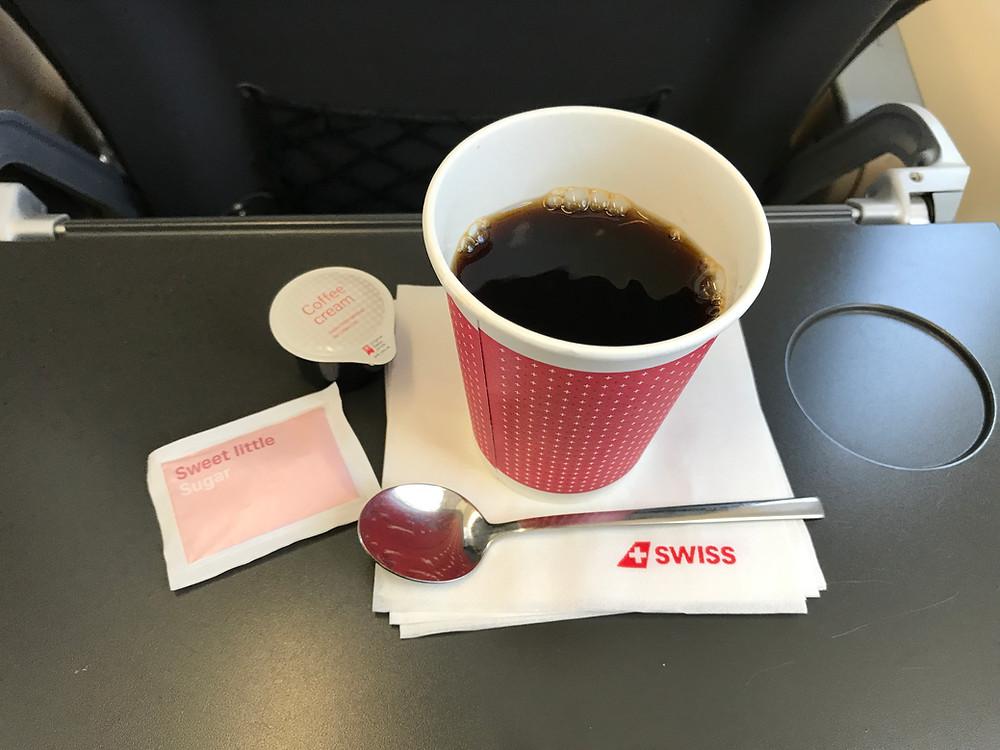 スイスインターナショナルエアラインズ ビジネスクラス 機内食