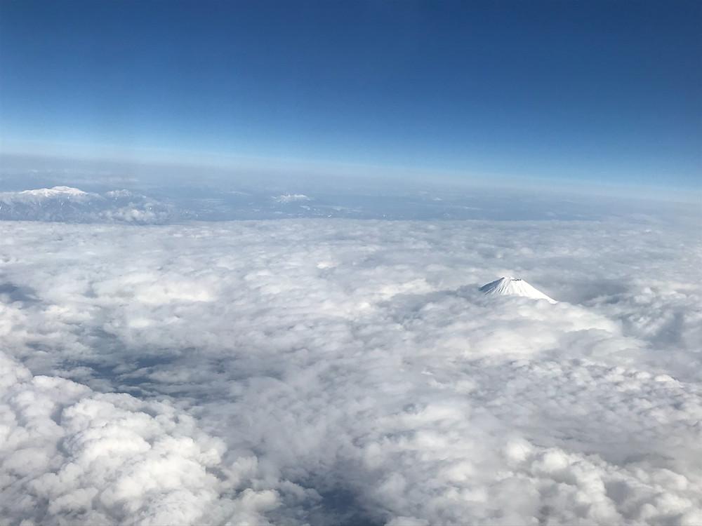 ソラシドエア 富士山の眺め