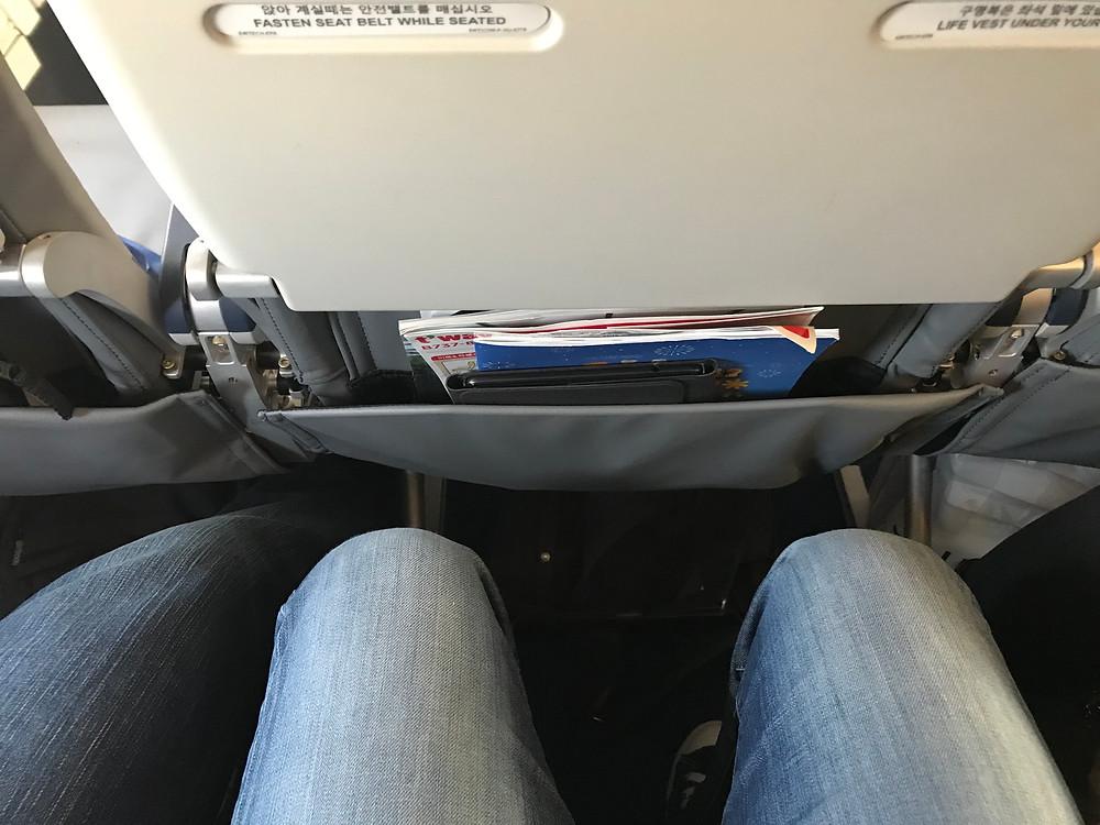 T'way 航空 機内 座席