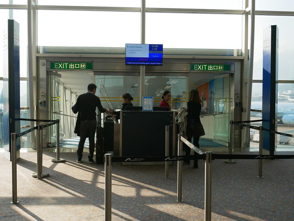 香港国際空港 ゲート