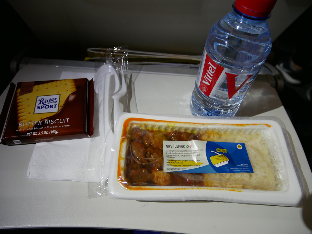 スクート機内食