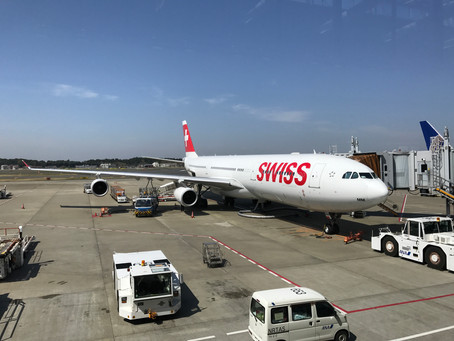 スイスインターナショナルエアラインズ ビジネスクラス搭乗記 成田~チューリッヒ 2017年4月