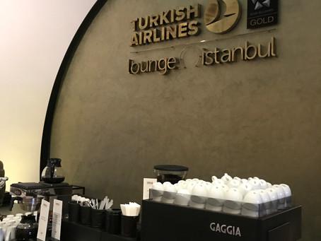ターキッシュエアラインズ イスタンブール空港 ビジネスクラスラウンジ