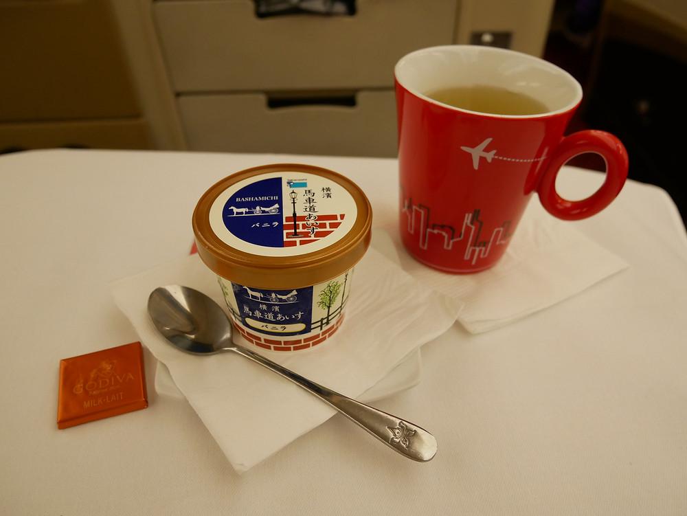 香港航空 ビジネスクラス 機内食