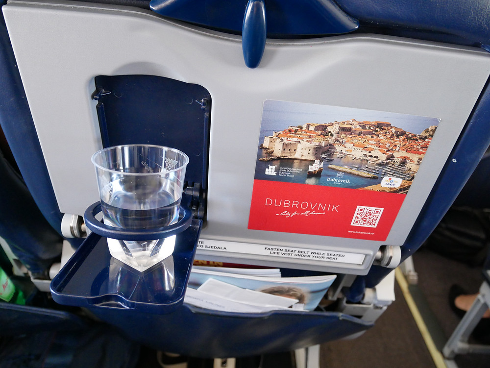 クロアチア航空 水