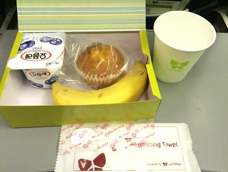 ジンエアー(Jin Air) エコノミークラス搭乗機 成田~ソウル・仁川 2016年12月