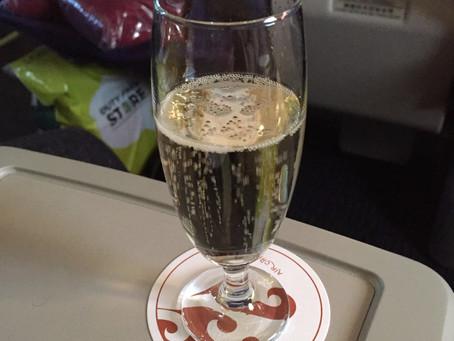 中国国際航空(エアチャイナ) ビジネスクラス ローマ~北京 2015年12月