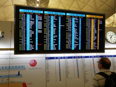 キャセイパシフィック航空 エコノミークラス搭乗記 香港〜羽田 2017年12月