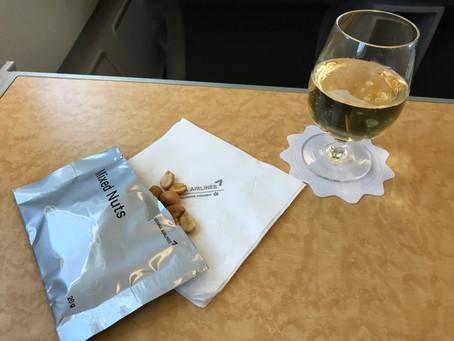 アシアナ航空 ビジネスクラス搭乗記 金浦〜羽田 2017年9月