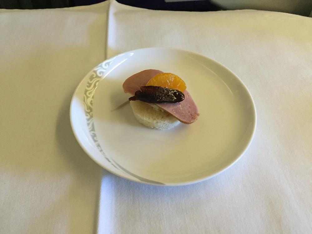 中国国際航空 機内食
