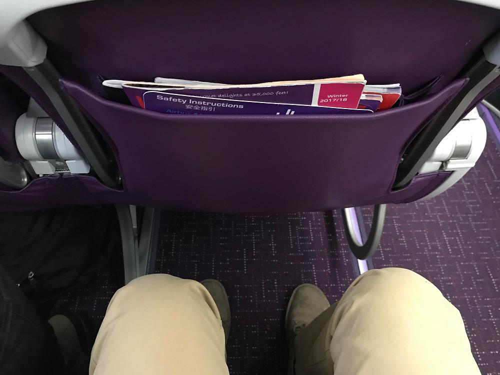 香港エクスプレス 機内 シートピッチ