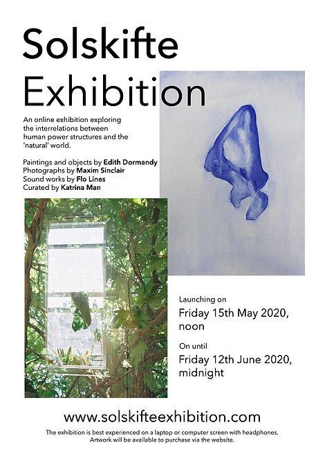 Solskifte Exhibition Poster (A3)
