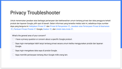 Troubleshooter Redesign