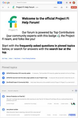 Mobile Forum A/B testing