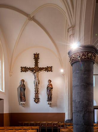 Sint-Aldegondis kerk Alken