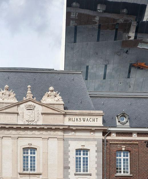 Stadskantoor, Rijkswachtkazerne Hasselt