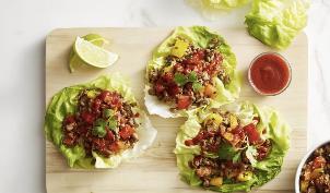 GF Thai Turkey Lettuce Wraps