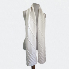 Basique diagonales, blanc
