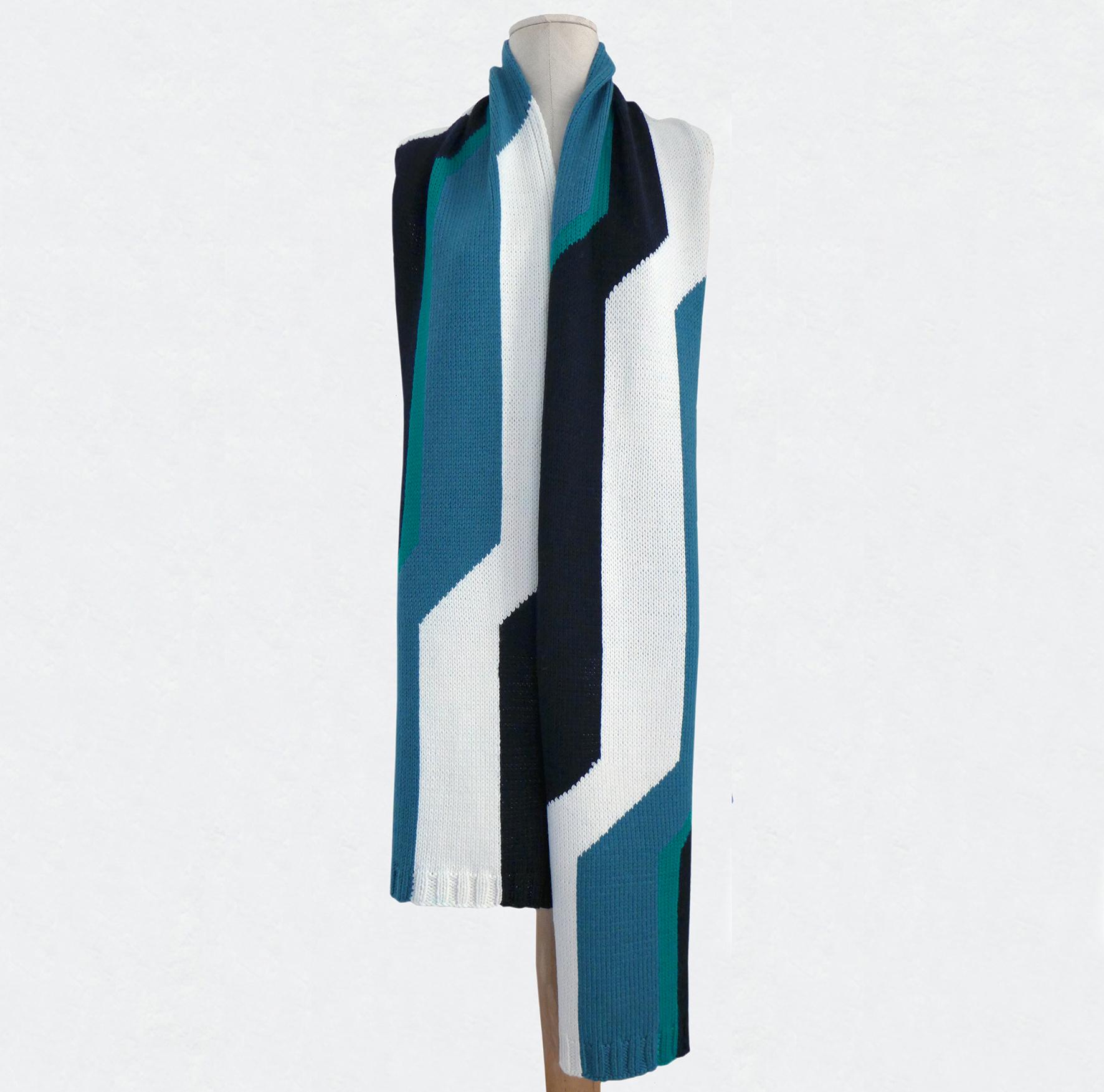 TRIBUTE_E.S tricolore, noir_blanc_vert 1