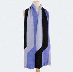 TRIBUTE_E.S. tricolore noir, gris, bleu