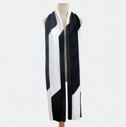 TRIBUTE_E.S tricolore, noir_blanc_gris