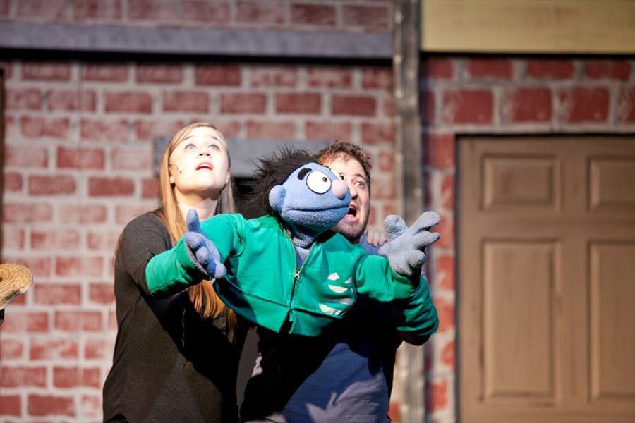 Avenue Q, Two Planks Theatre Company 2016, Photo: Julia Gerace Photography
