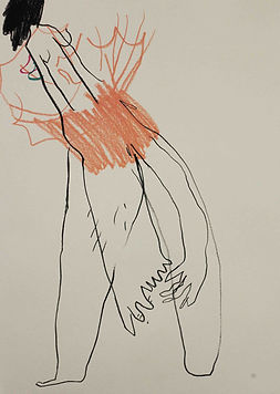Körper, Blind, Zeichnung