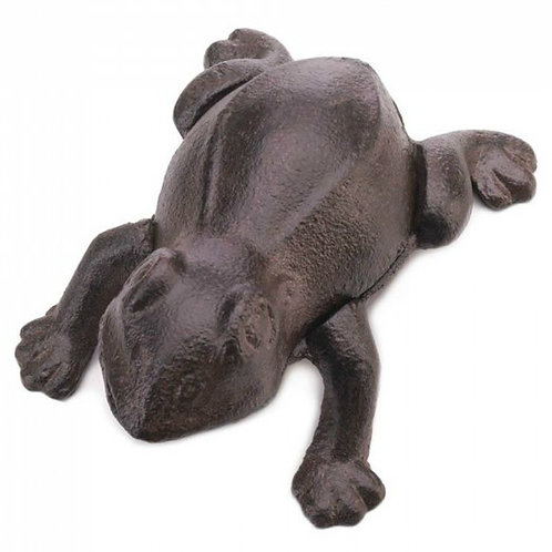 Cast Iron Frog Key Hider