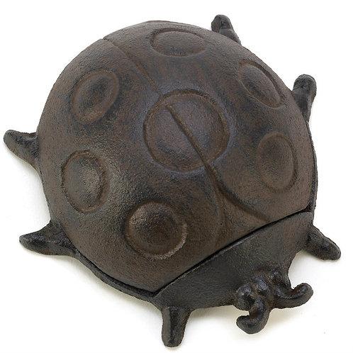 Cast Iron Ladybug Key Hider