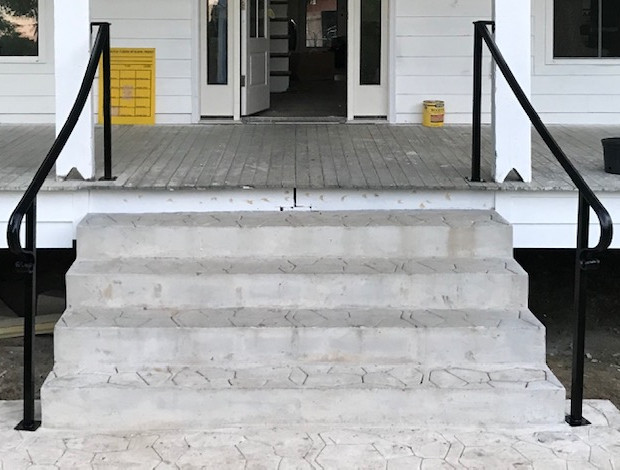 Simple Curved Handrails