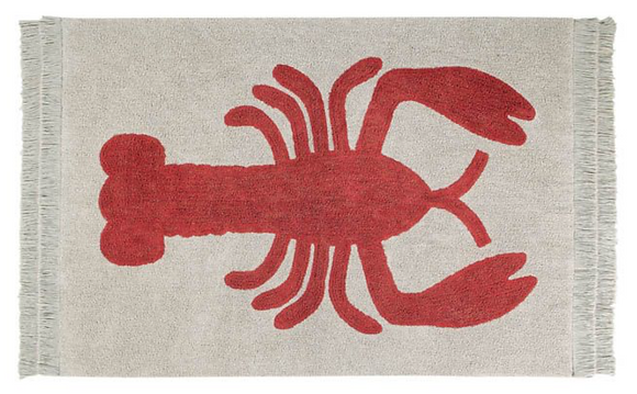Alfombra Lavable Lobster