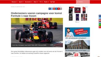 RTVDrenthe, screenshot